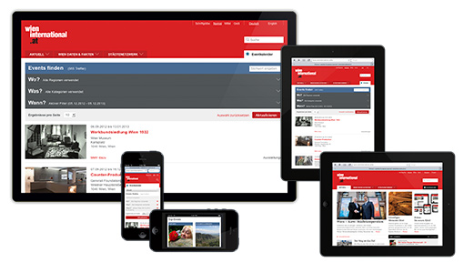 Screenshots Responsive Webdesign