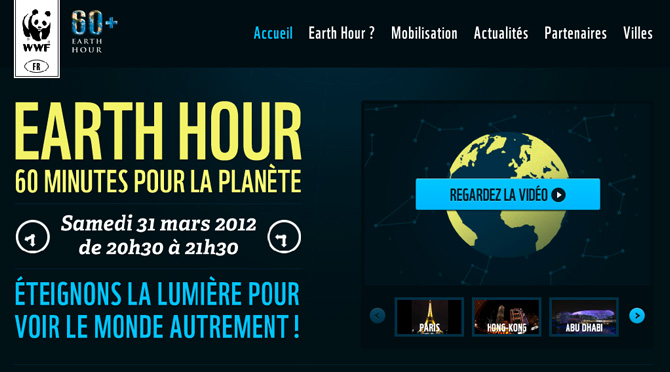 Earth Hour | WWF France