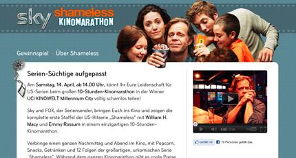 Sky Shameless Kinomarathon Screenshot